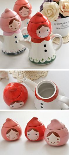 Red Riding Hood - tea set