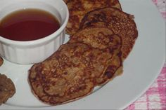 Low Fat Whole Wheat Banana Pancakes from Food.com:   These low fat whole wheat banana pancakes are low in calories and fat, but not in taste.   Yummy Saturday Morning Breakfast!