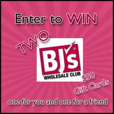 2 ($50) BJ's Wholesale Club Gift Cards 6/7