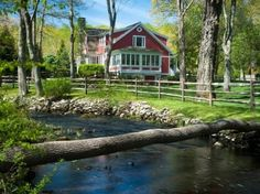 $8.9M  Estate in Connecticut - Guest house    if I had the bucks this would be the place - charm,character, good bones, beauty, trees, water, greenhouse, etc. Needs real barn w/ some alpacas, llamas, chickens, and goat or two.
