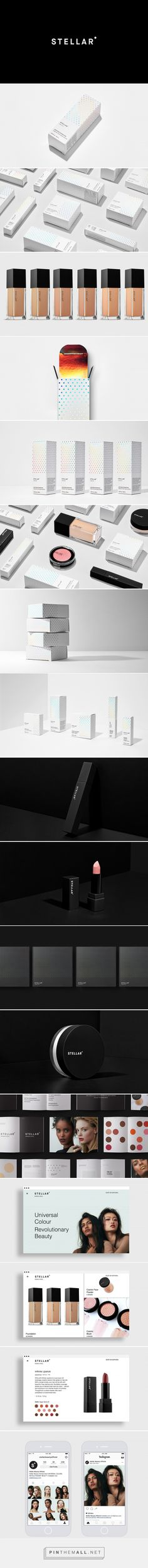 Stellar Cosmetics Branding and Packaging by Luis Coderque | Fivestar Branding Agency – Design and Branding Agency & Curated Inspiration Gallery