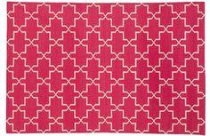 Hot Pink Brooke mediterranean rugs