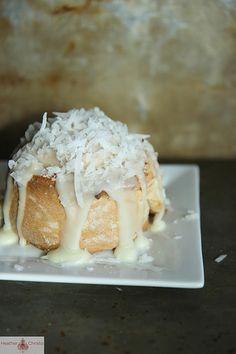 Triple Coconut Cinnamon Rolls