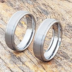 Turbo brushed rings for your girlfriend in a 6mm width. Turbo features a brushed finish with two grooves circling the ring. Also available in matching width. Gold Diamond Wedding Band, Halo Diamond Engagement Ring, Engagement Rings, Oval Morganite Ring, Friend Rings, Triangle Earrings, Tungsten Rings, Tungsten Carbide, Metals