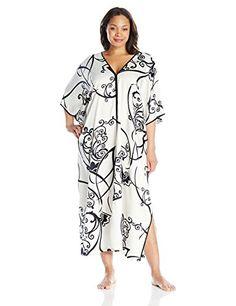 Natori Women s Plus-Size Selis Caftan  57.39 Plus Fashion 08cf3b75b