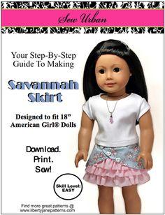 Sew Urban Savannah Skirt Pattern