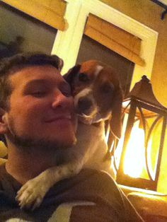 I got home for winter break and he wouldn't stop hugging me. - Imgur