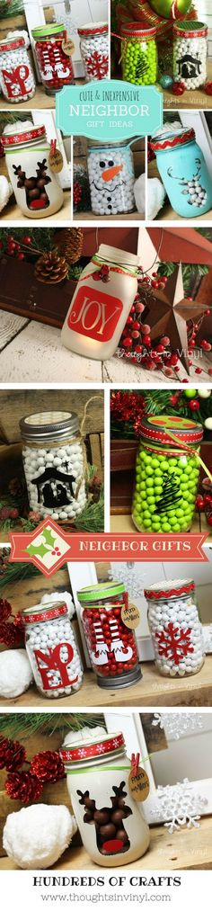 The Best Crochet Mason Jar Covers Pattern Gift Ideas I've Ever Gotten. You're able to personalise the mason jars in line with the occasion. Small mason jars full of home-made soy candles are a huge hit all through the year. Neighbor Christmas Gifts, Neighbor Gifts, Homemade Christmas Gifts, Xmas Gifts, Homemade Gifts, Xmas Presents, Christmas Wood Crafts, Christmas Projects, Holiday Crafts