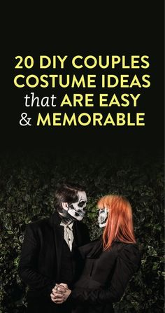 20 DIY Couples Costume Ideas that are Easy & Memorable - with links to where you can buy the costume right now!