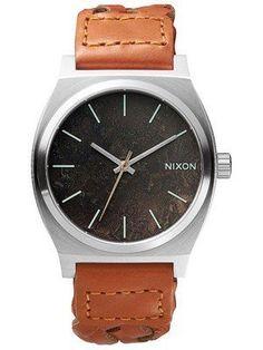 Nixon Time Teller Dark Copper Saddle Woven A045-1959-00 Men's Watch