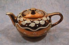 Tea Tins, Leaf Design, Lancaster, Luster, 1940s, Teapots, Handmade Items, My Etsy Shop, Copper