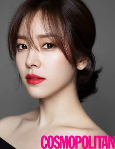Han Ji Min for Cosmopolitan's November Issue 2015