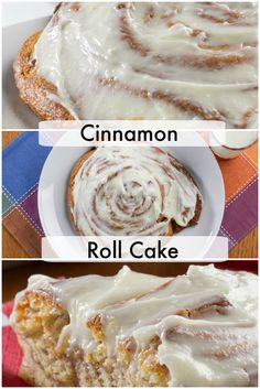 What's better than a cinnamon roll? A Cinnamon Roll Cake! And this one only takes 15 minutes.