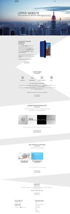 Fullcreen Ansicht unserer eigenen Website.  Responsive & SEO optimiert Web Design, Seo, Desktop Screenshot, Social Media, Web Design Projects, Search Engine Optimization, Social Networks, Website Designs, Social Media Tips