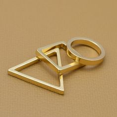 Fashion Costume Gold Plated Charm Finger Rings for women