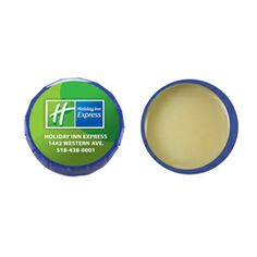 All natural Beeswax formula U.S. made premium Lip Balm in snap top tin. Price includes regular flavor in a white tin with a 4-color process ...
