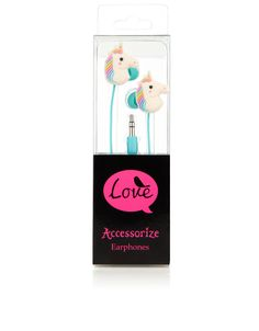 Earphones have become a legit fashion accessory, as a host of trendy people splurge on fancy rose gold speakers. Foolish, really, because these unicorn buds come in at just £10, and what could be cooler than rainbow manes when you want to crank out some One Direction?    - Cosmopolitan.co.uk
