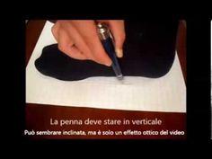 Disegno del piede per scarpe su misura