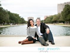 Hermann Park Engagement ~ Water