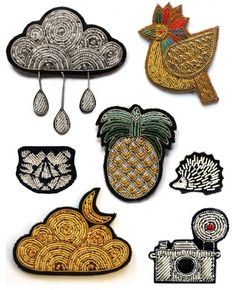 Selected pins, Macon & Lesquoy
