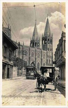 Photo by Bogs Bogs Philippines Culture, Manila Philippines, Filipino Culture, Batangas, Filipiniana, Old Churches, American War, Pinoy, Vintage Pictures