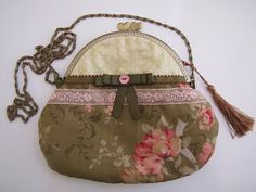 costura, bolso vintage, boquilla, couture, purse, bourse, sewing