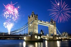 #Fireworks over Tower Bridge for #BonfireNight!