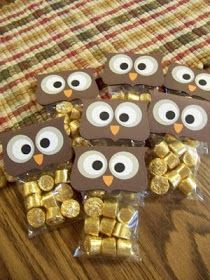 Thanks for giving a hoot! or Hoo loves ya? or Owl miss you! or Thank you wise one! or Hoo will be my Valentine? Great ideas for our Owl classroom! Kids Crafts, Craft Projects, Craft Gifts, Diy Gifts, Fall Gifts, Owl Miss You, Holiday Crafts, Holiday Fun, Holiday Ideas