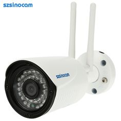 (72.7$)  Watch more here  - szsinocam Full HD 2.0MP Megapixels 1080P 2.4G/5.8G Wireless Wifi Camera CCTV Surveillance Security P2P Network IP Cloud Indoor Outdoor Bullet Camera support Onvif2.4 Weatherproof IR-CUT Filter Infrared Night View Motion Detection Email Alarm Android/iOS APP Free CMS 36LED