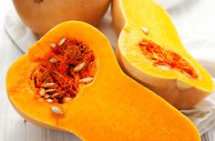 We love butternut! It's delicious, economical, healthy and – above all – versatile, and here we share are our favourite scrumptious ways with butternut… Fruit And Vegetable Diet, Healthy Fries, Curried Butternut Squash Soup, Roasted Butternut, Squash Seeds, Squash Food, Real Food Recipes, Healthy Recipes, Healthy Habits
