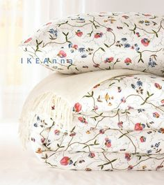 Alvine Orter Duvet Cover With French Country Fl Pattern By Ikea
