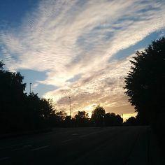 Another cloudy summer evening