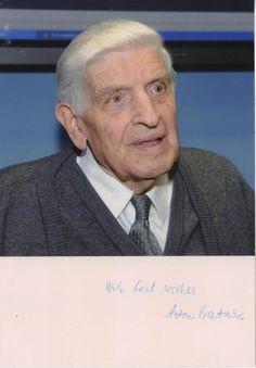 Anton Vratuša - Former Prime Minister of Slovenia