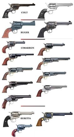 Old six shooters are just cool.