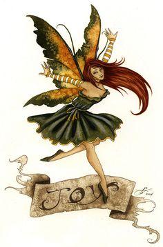 Fairy Art by Amy Brown - Joy
