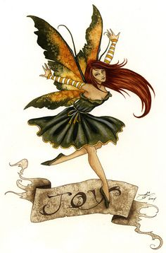 Fairy Art by Amy Brown - Joy