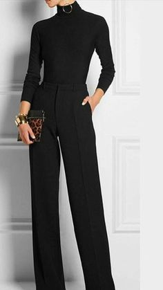 total black #fashion