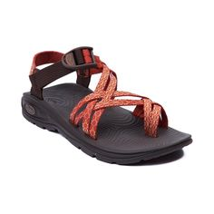 Shop for Womens Chaco Zvolv X2 Sandal in Orange Red at Journeys Shoes. Shop today for the hottest brands in mens shoes and womens shoes at Journeys.com.Hit the trails with the new Zvolv X2 Sandal from Chaco! The Zvolv X2 Sandal sports an athletic design with adjustable webbed polyester double straps, adjustable toe straps for a secure fit, durable rubber footbed providing optimal arch support and body alignment, and non-marking EcoTread outsole delivers slip-resisting traction. Available for…