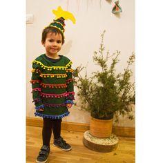 Disfraz arbol Navidad DIY, disfraz casero para niño. Costume Christmas Tree, kids.