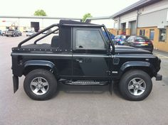 land rover defender 90 soft top roll cage - Google Search