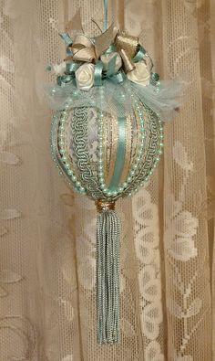 Victorian Christmas Ornaments   Handmade VICTORIAN CHRISTMAS Ornament