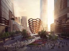 "What Will Thomas Heatherwick's ""Vessel"" At Hudson Yards Really Add to New York?"
