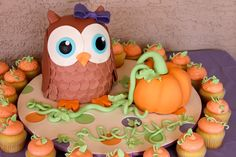 I made this cake for my daughter's 1st birthday October 31, 2011. I am a little obsessed with owls and now I am selling for Origami Owl. How fitting! :)