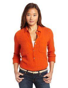Velvet Women's Winter Cotton Gauze Shirt