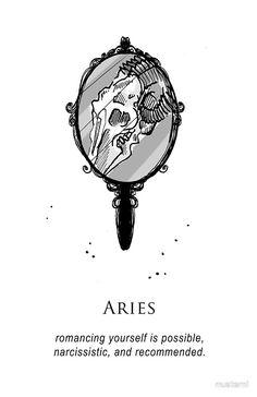 Aries - Shitty Horoscopes Book V: Love Sells by musterni