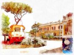 railway museum train