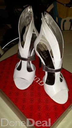 Discover All Footwear For Sale in Ireland on DoneDeal. Buy & Sell on Ireland's Largest Footwear Marketplace. Sandals For Sale, White Sandals, Dublin, What To Wear, Buy And Sell, Platform, Footwear, Heels, Stuff To Buy