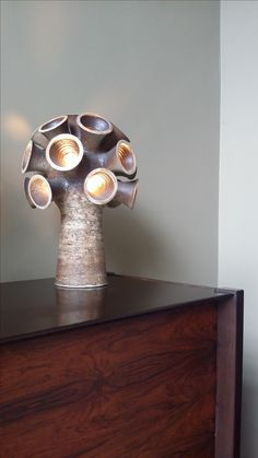 Dutch vintage table lamp, Pieter Groeneveldt, 1968