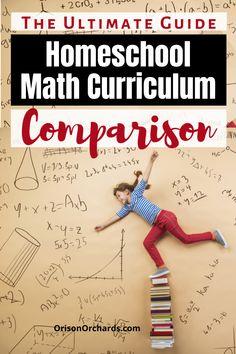 Homeschool Math Curriculum Comparison Guide
