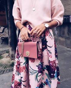 #nyfw #style #fashion #floralskirts